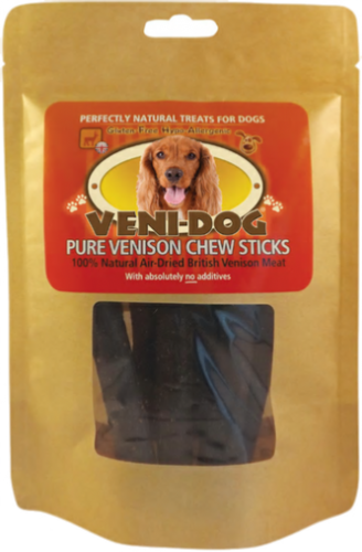 Veni Dog - Venison - Chew Sticks -  (6 Pack)